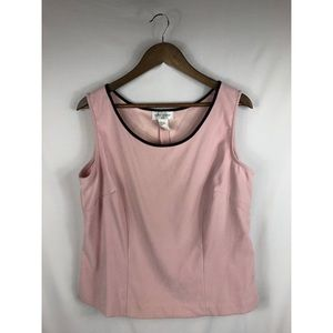 Soft Pink w/Black Trim Tank